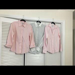 Set of 3 -Brooks Brothers Non-Iron Sz 4 blouses